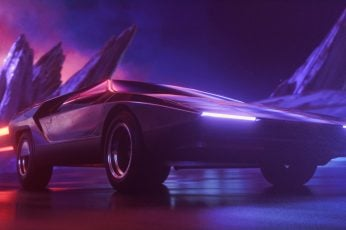 Synthwave wallpaper, Auto, Music, Neon, Machine, Background, Synth, Retrowave