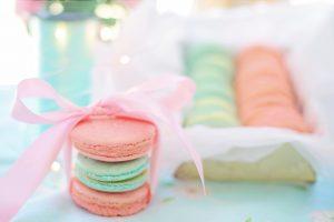 Macarons wallpaper, pink, aqua, pastels, cookies, biscuits, sweet, dessert