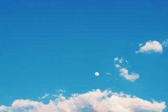 Nature wallpaper, outdoors, azure sky, cloud, pastel, portrait, vsco