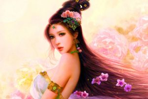 Pastel Beauty Art Cg Woman Asian Girl wallpaper