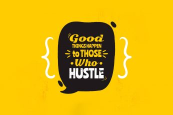 Quote wallpaper, text, typography, yellow background
