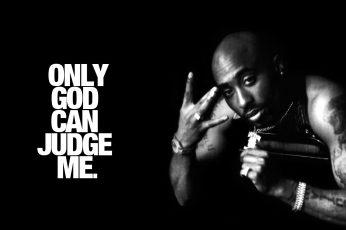Only God Can Judge Me wallpaper – Tupac, 2Pac illustration, Artistic, Typography