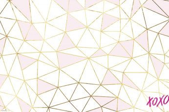 Rose gold wallpaper, pattern, abstract, design, shape