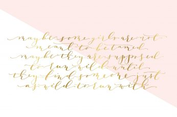 Rose gold wallpaper, handwriting, calligraphy
