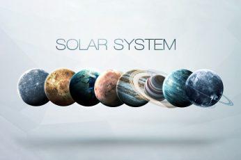 Saturn Space wallpaper, Earth, Planet, Mars, Jupiter, Neptune, Mercury