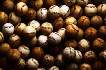 Baseballs wallpaper, Sports, Games