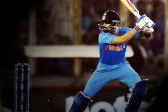 Virat Kohli Leads wallpaper, men's blue jersey set, Sports, Cricket, people