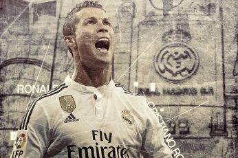 Adidas Fly Emirates soccer jersey wallpaper, Cristiano Ronaldo