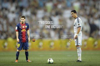 Ronaldo wallpaper, El Clasico, FC Barcelona