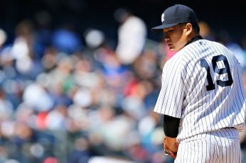 Masahiro Tanaka-Sports HD Wallpapers, men's white baseball jersey