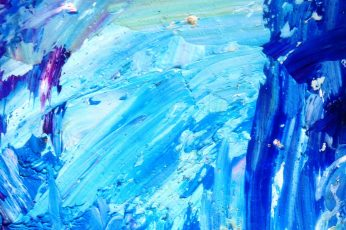 Blue and White Abstract Painting wallpaper, abstract oil painting, art