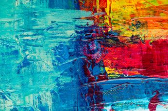 Abstract Painting wallpaper, art, artistic, canvas, close-up, colorful