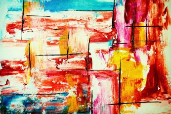 Multicolored Abstract Painting 4k wallpaper, abstract expressionism