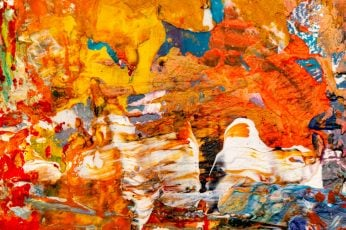 Multicolored Abstract Painting, wallpaper 4k, abstract expressionism