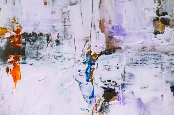 Multicolored Fluid Abstract Painting wallpaper, abstract expressionism