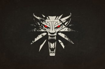 Wolf clip art wallpaper, tiger logo, The Witcher 3: Wild Hunt, The Witcher 2: Assassins of Kings