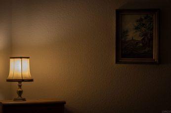 Art wallpaper, classic, dark, empty, furniture, home, house, indoors