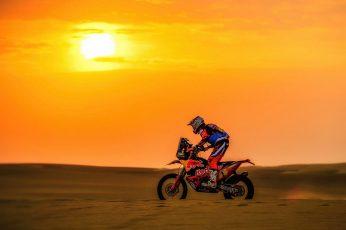 Sunset wallpaper, The sun, Sport, Speed, Motorcycle, Racer, KTM, Bike