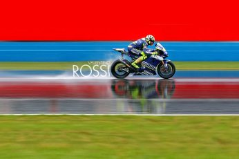 Valentino Rossi wallpaper, blue and white sport bike,  motorcycle, racing