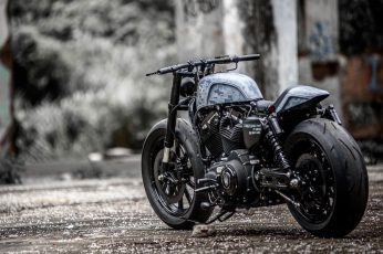 Harley Davidson wallpaper, modified, motorcycle, Heavy bike, Harley-Davidson