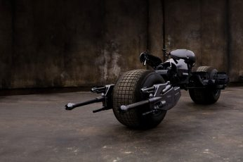 Batman's Bat bike wallpaper, motorcycle, Batpod, The Dark Knight, transportation