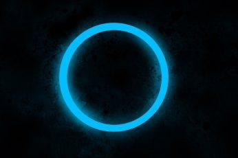 Round blue hole illustration wallpaper, circle, web design, artwork, digital art