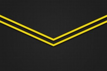 Yellow black wallpaper, classic, flat, 8k uhd, flat design, grey, minimal art