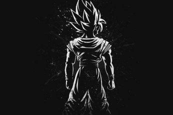 Dragon Ball Son Goku illustration wallpaper, Dragon Ball Z, art and craft