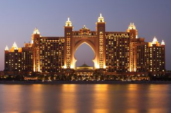 Tourist attraction wallpaper, archipelago, arabian gulf, artificial, atlantis