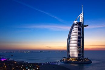 Burj Al Arab Jumeirah wallpaper, Dubai, city, cityscape, United Arab Emirates