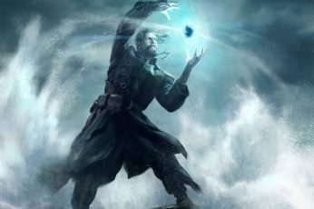Art wallpaper, artwork, fantasy, mage, Magic, magician, sorcerer, wizard