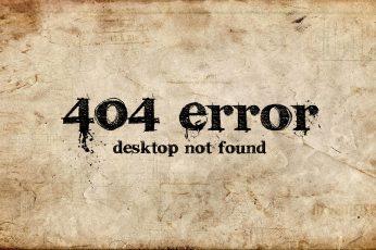 Funny 404 Error wallpaper