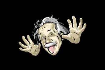 Cartoons funny wallpaper albert einstein 1920×1080 Entertainment Funny HD Art