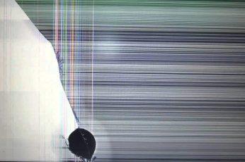 Funny wallpaper, broken, broken screen, cracked screen, indoors, no people