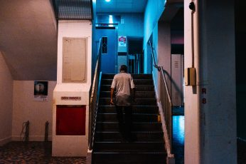 Singapore wallpaper, oldman, alone, lonely, stairs, ghetto, rundown, up