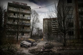 Gray concrete building wallpaper, Stalker Call Of Pripyat, Stalker titles