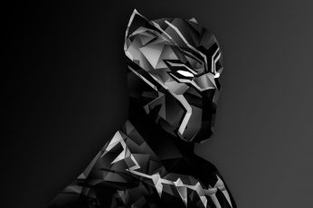 Marvel Black Panther digital wallpaper, Captain America: Civil War