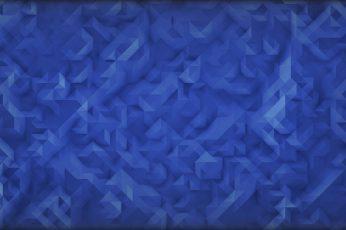 Polygon wallpaper, blue digital wallpaper, digital art, low poly, minimalism, 2D