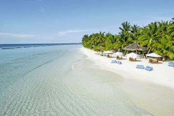 Nature wallpaper, beach, sand, ocean, sea, shore, sandbar, water, coast