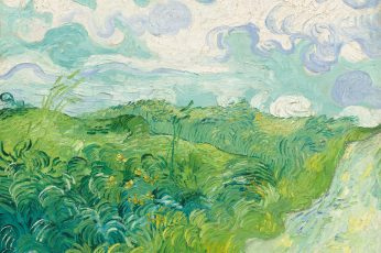 Vincent van Gogh wallpaper, oil painting, landscape