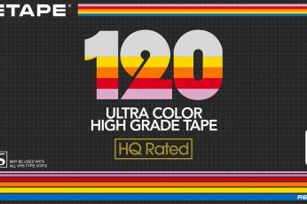VHS wallpaper, Scotch, Tape, Sony, videotape