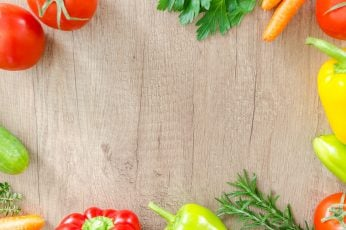 Fruits on gray surface wallpaper, table, wood, fresh, organic