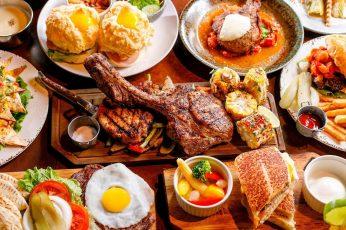 Buffet wallpaper, meal, food, brunch, breakfast, dish, appetizer, full breakfast