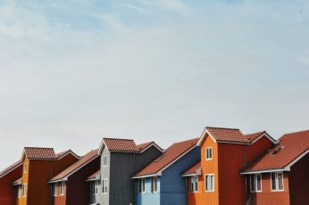 Groningen wallpaper, netherlands, reitdiephaven, houses, port, boats