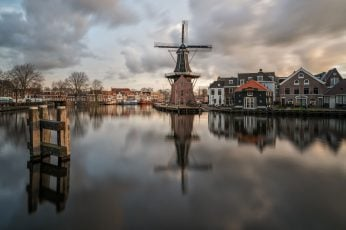 Holland wallpaper, Netherlands, Haarlem