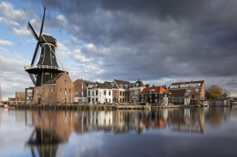 Haarlem wallpaper, Netherlands, Holland