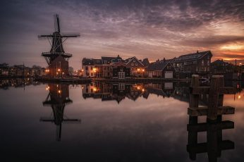 Netherlands wallpaper, Holland, Haarlem