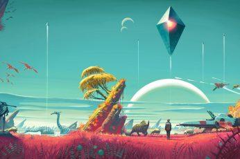 Lo fi landscape
