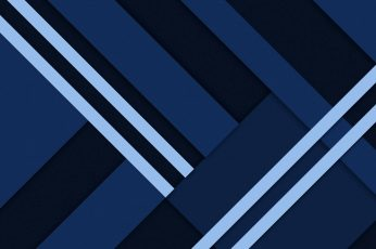 Material blue wallpaper, material design, minimal art, minimalist, graphics