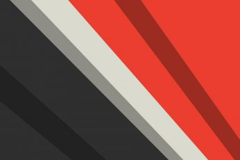 Red gray minimalist wallpaper, line, angle, design, minimal art, pattern